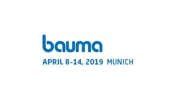 BAUMA 2019, 8-14 April 2019