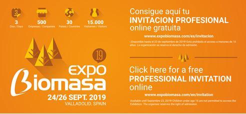 Expo Biomasa 2019 - Digital Invitation