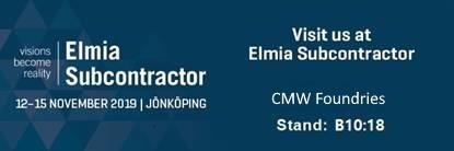 Visit us in Elmia 2019